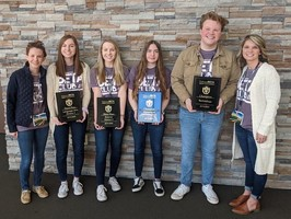 Beta Club Sweeps at State Convention
