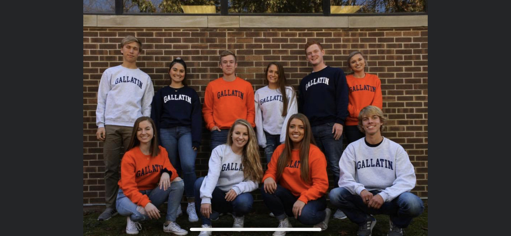 Orange, Navy or Gray!  25 dollars each. Great Christmas Gift!!  See a Senior and place your order now!