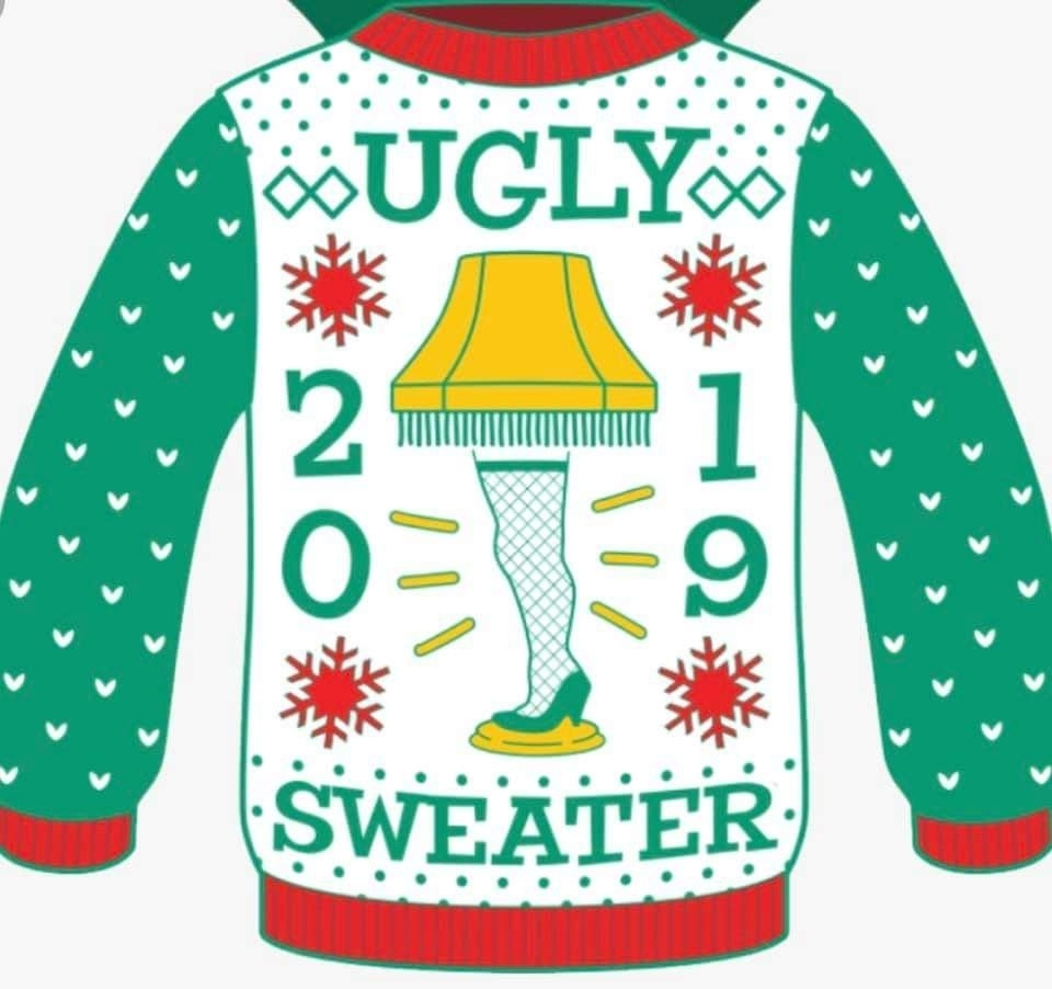 ugly Christmas Sweater Day!