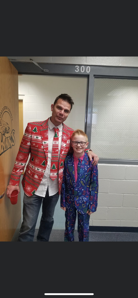 Looking good you two!  Happy New Year everyone!  Back to school Monday January 6th!