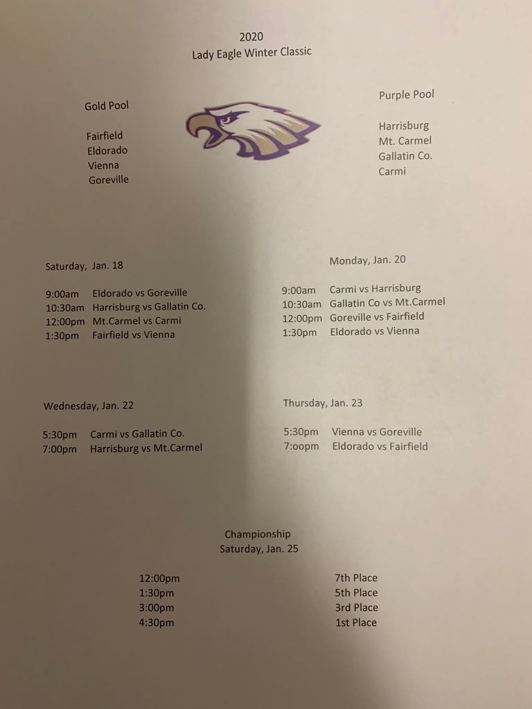Lady Eagle Winter Classic 2020