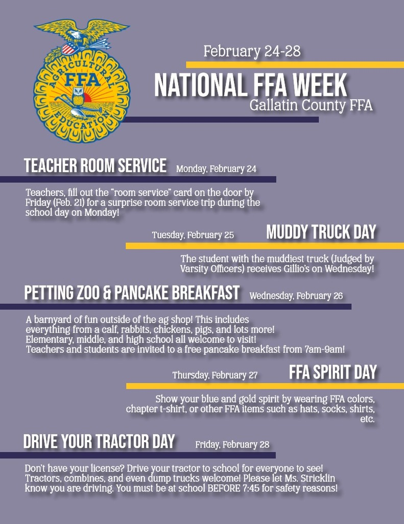 FFA Week Events