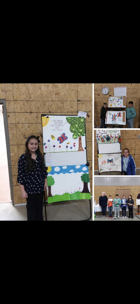 Soil Water Poster Winners!  Great job!